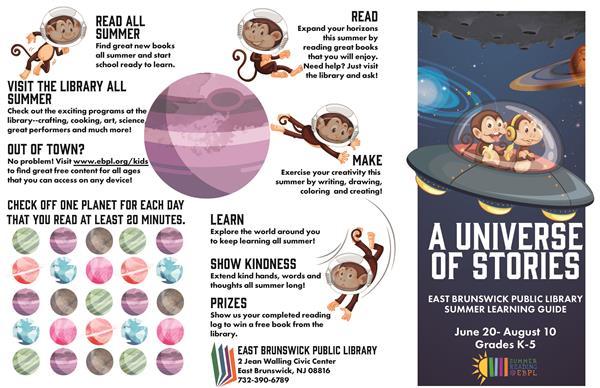 Language Arts/English/Primary Education / Summer Reading