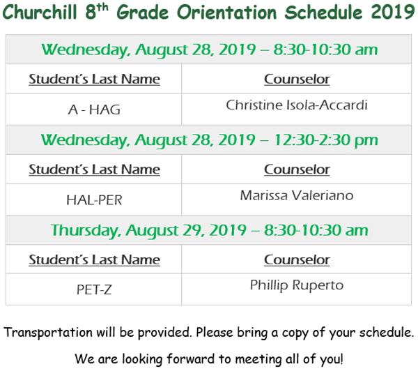Churchill Junior High School / Homepage