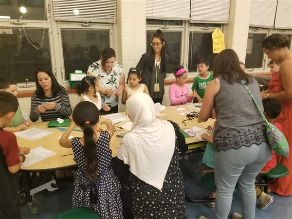 District-wide First Grade Family Fun Night