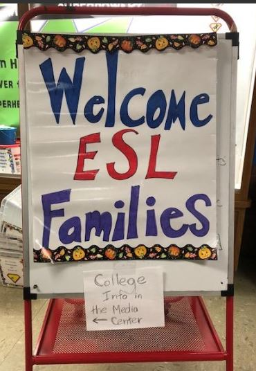 ESL Literacy Event at Irwin Elementary