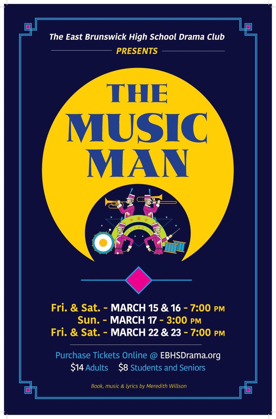 "EBHS Drama Club Presents ""The Music Man"""