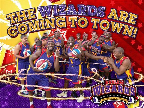 The Harlem Wizards are coming!